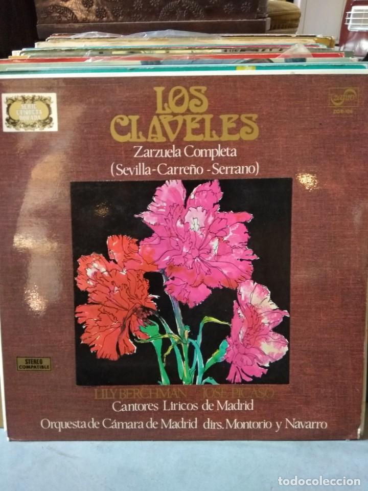 Discos de vinilo: Enorme colección de 60 álbumes de zarzuela y opera. Con libretos la mayoría y algunos dobles. - Foto 21 - 135782654