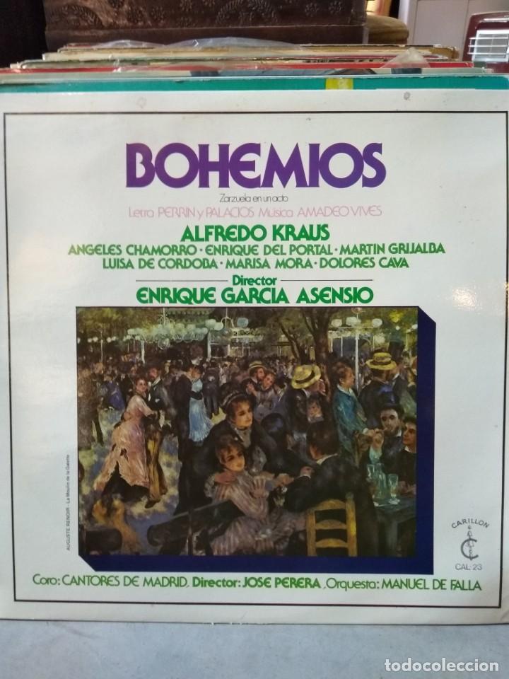 Discos de vinilo: Enorme colección de 60 álbumes de zarzuela y opera. Con libretos la mayoría y algunos dobles. - Foto 22 - 135782654