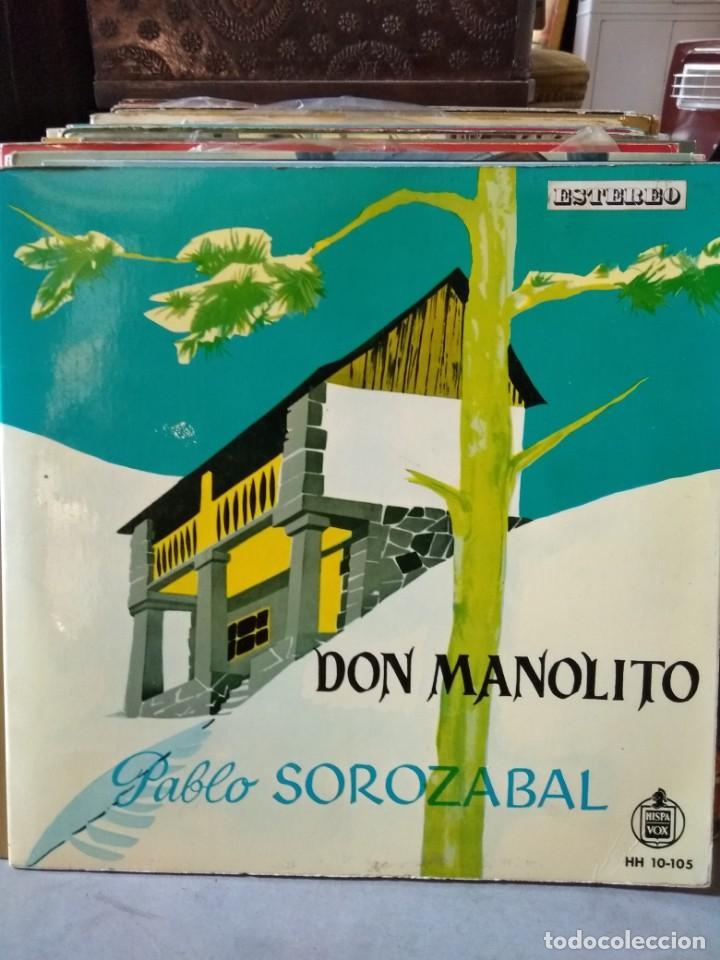 Discos de vinilo: Enorme colección de 60 álbumes de zarzuela y opera. Con libretos la mayoría y algunos dobles. - Foto 23 - 135782654
