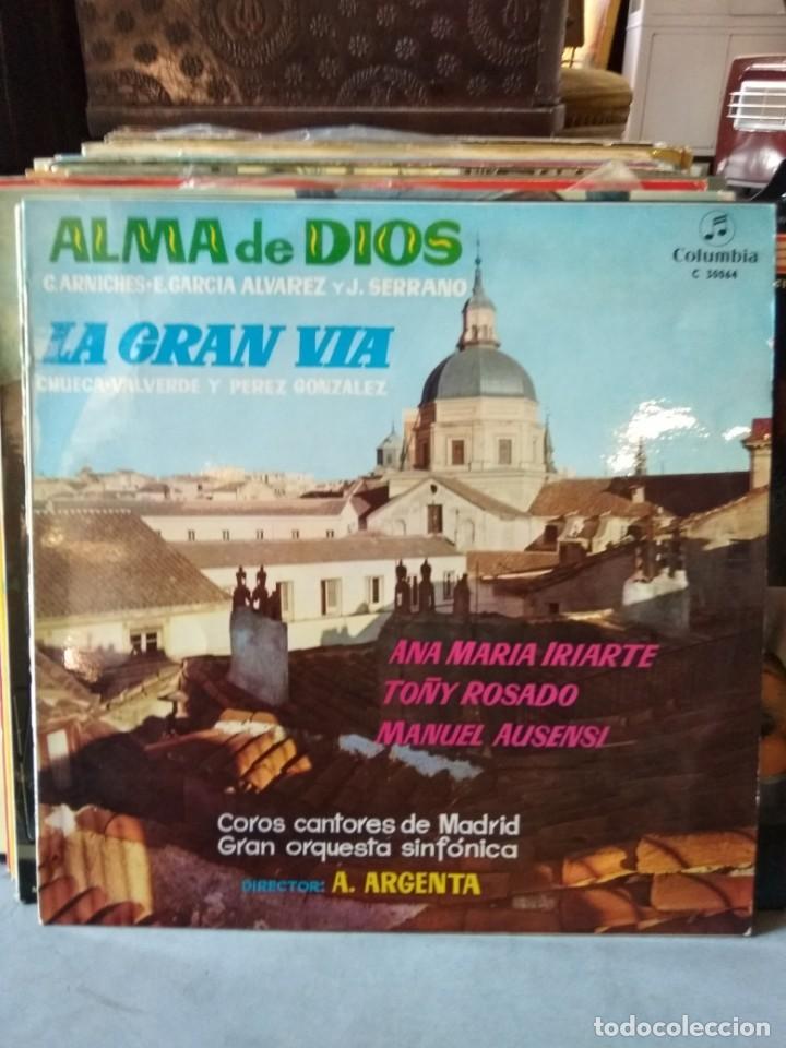 Discos de vinilo: Enorme colección de 60 álbumes de zarzuela y opera. Con libretos la mayoría y algunos dobles. - Foto 26 - 135782654