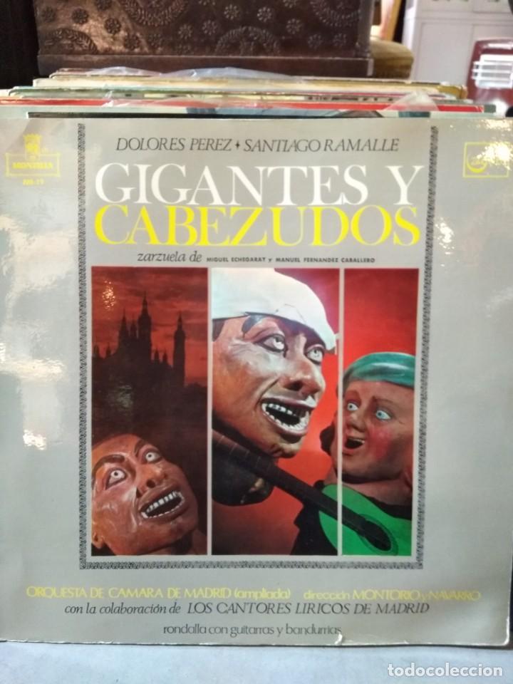 Discos de vinilo: Enorme colección de 60 álbumes de zarzuela y opera. Con libretos la mayoría y algunos dobles. - Foto 27 - 135782654