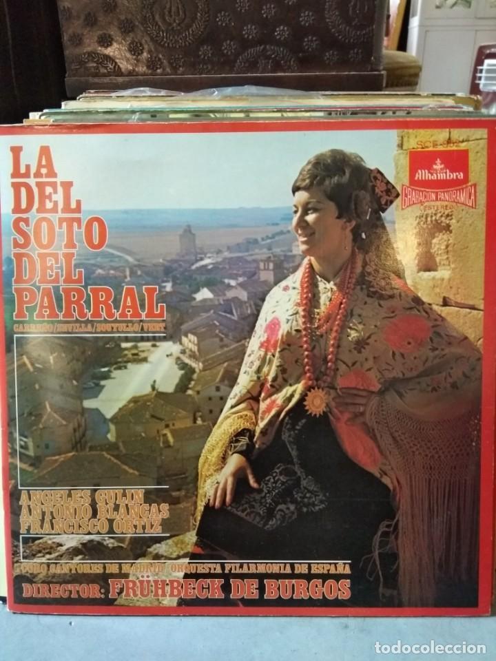 Discos de vinilo: Enorme colección de 60 álbumes de zarzuela y opera. Con libretos la mayoría y algunos dobles. - Foto 32 - 135782654