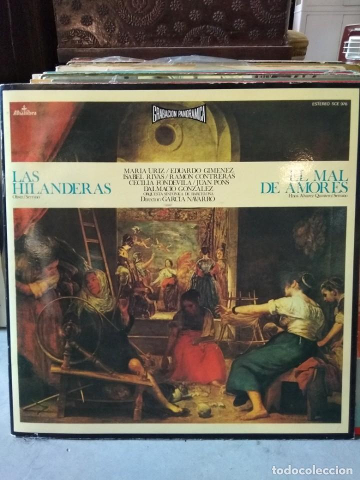Discos de vinilo: Enorme colección de 60 álbumes de zarzuela y opera. Con libretos la mayoría y algunos dobles. - Foto 33 - 135782654