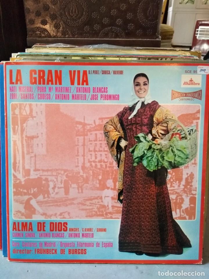 Discos de vinilo: Enorme colección de 60 álbumes de zarzuela y opera. Con libretos la mayoría y algunos dobles. - Foto 34 - 135782654