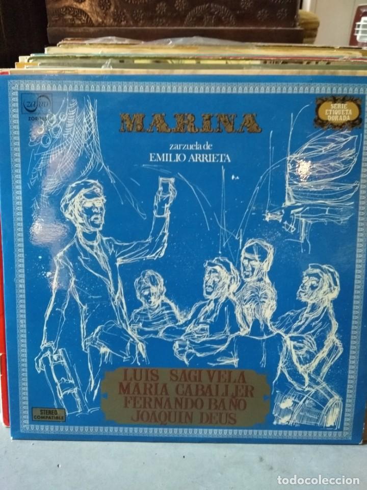 Discos de vinilo: Enorme colección de 60 álbumes de zarzuela y opera. Con libretos la mayoría y algunos dobles. - Foto 35 - 135782654