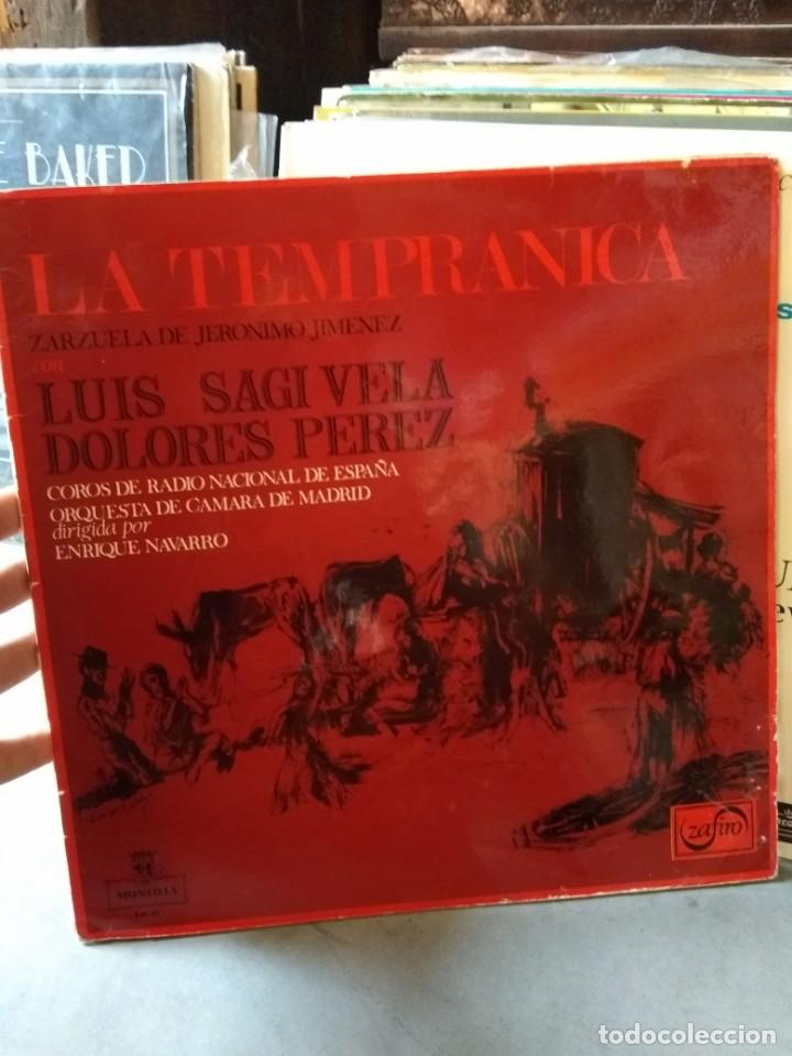 Discos de vinilo: Enorme colección de 60 álbumes de zarzuela y opera. Con libretos la mayoría y algunos dobles. - Foto 37 - 135782654