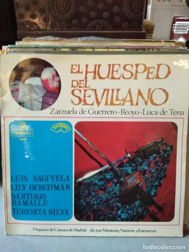 Discos de vinilo: Enorme colección de 60 álbumes de zarzuela y opera. Con libretos la mayoría y algunos dobles. - Foto 39 - 135782654