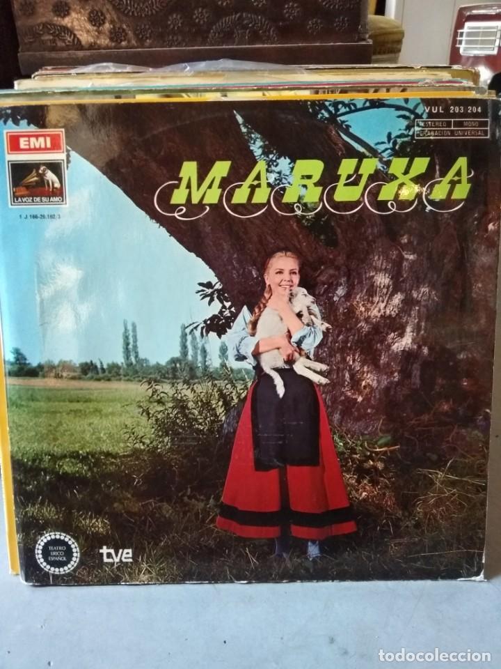 Discos de vinilo: Enorme colección de 60 álbumes de zarzuela y opera. Con libretos la mayoría y algunos dobles. - Foto 41 - 135782654