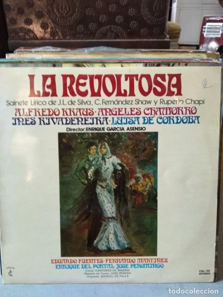 Discos de vinilo: Enorme colección de 60 álbumes de zarzuela y opera. Con libretos la mayoría y algunos dobles. - Foto 43 - 135782654