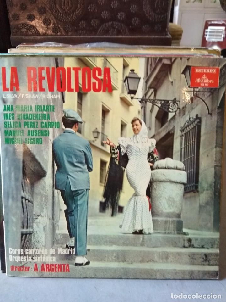 Discos de vinilo: Enorme colección de 60 álbumes de zarzuela y opera. Con libretos la mayoría y algunos dobles. - Foto 44 - 135782654