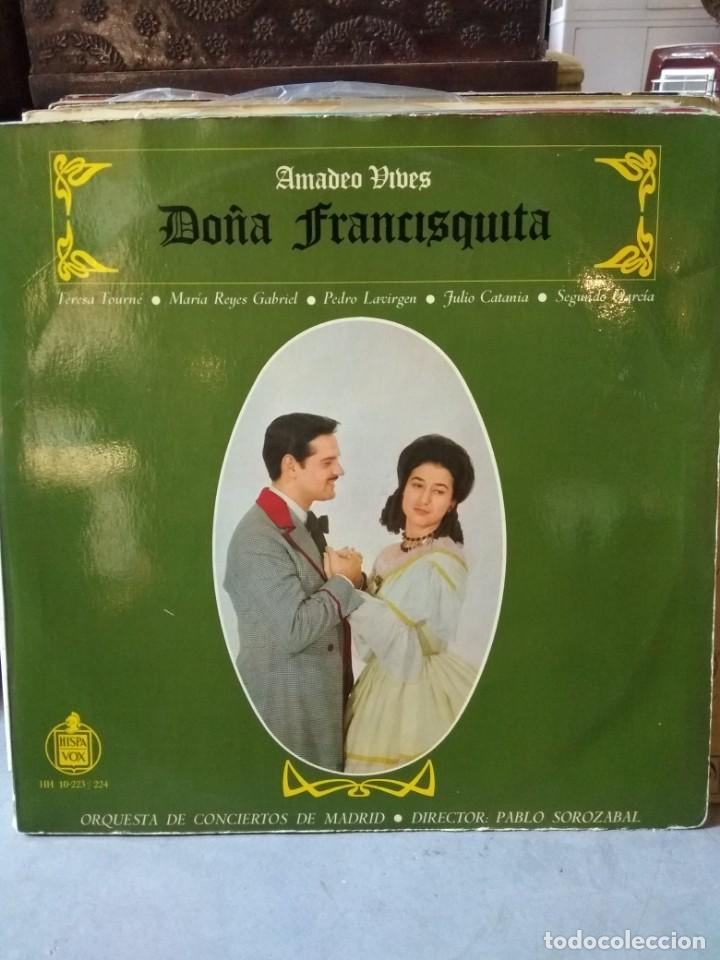 Discos de vinilo: Enorme colección de 60 álbumes de zarzuela y opera. Con libretos la mayoría y algunos dobles. - Foto 46 - 135782654