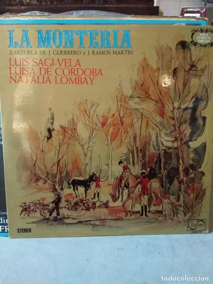 Discos de vinilo: Enorme colección de 60 álbumes de zarzuela y opera. Con libretos la mayoría y algunos dobles. - Foto 48 - 135782654