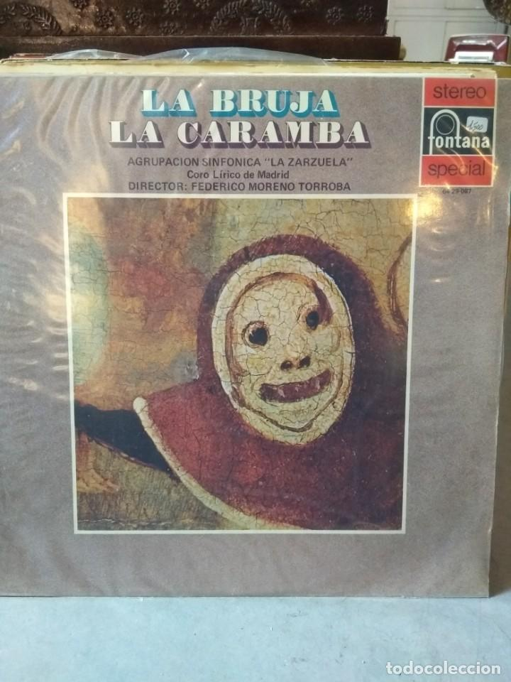 Discos de vinilo: Enorme colección de 60 álbumes de zarzuela y opera. Con libretos la mayoría y algunos dobles. - Foto 51 - 135782654