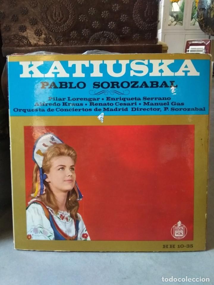 Discos de vinilo: Enorme colección de 60 álbumes de zarzuela y opera. Con libretos la mayoría y algunos dobles. - Foto 57 - 135782654