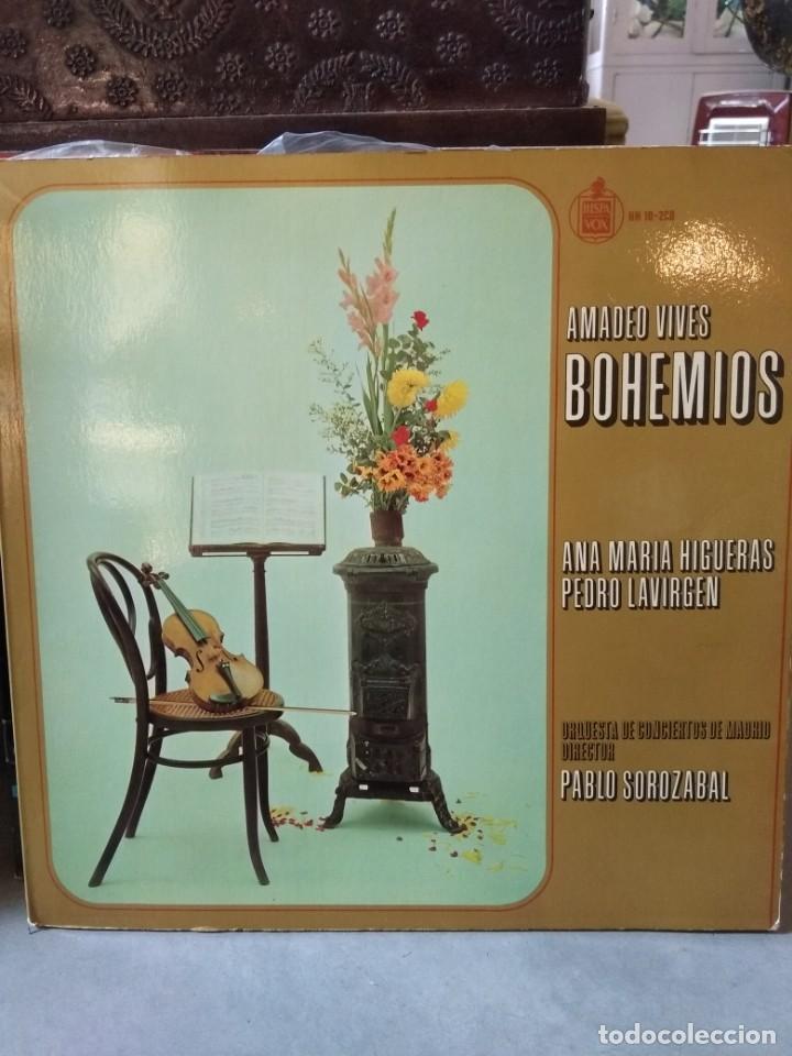 Discos de vinilo: Enorme colección de 60 álbumes de zarzuela y opera. Con libretos la mayoría y algunos dobles. - Foto 59 - 135782654