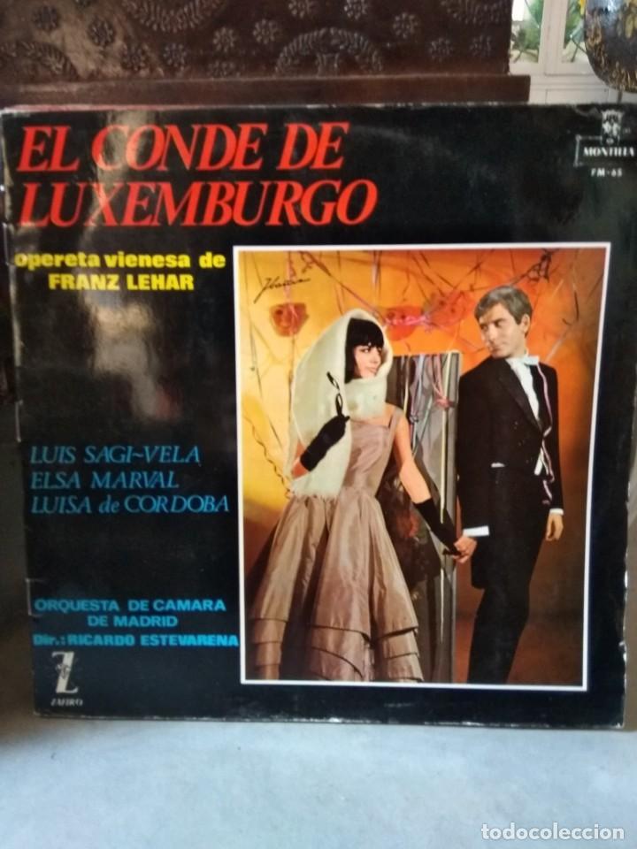 Discos de vinilo: Enorme colección de 60 álbumes de zarzuela y opera. Con libretos la mayoría y algunos dobles. - Foto 61 - 135782654