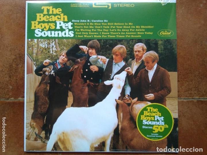 BEACH BOYS - PET SOUNDS (LP) PRECINTADO. EDICION ESPECIAL 50 ANIVERSARIO (Música - Discos - LP Vinilo - Pop - Rock Extranjero de los 50 y 60)