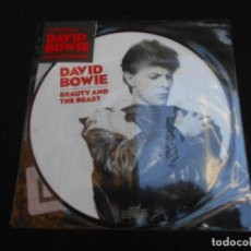 Discos de vinilo: DAVID BOWIE - PICTURE DISC - 40 TH, ANNIVERSARY BEAUTY AND BEAST. Lote 135786934
