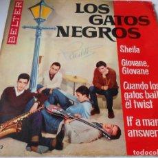 Discos de vinilo: GATOS NEGROS, EP, SHEILA + 3, AÑO 1963. Lote 135800370