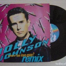 Discos de vinilo: HOLLY JOHNSON - WHERE HAS LOVE GONE? REMIX - MAXI-SINGLE 45 - ALEMAN 1990 - MCA. Lote 135803622