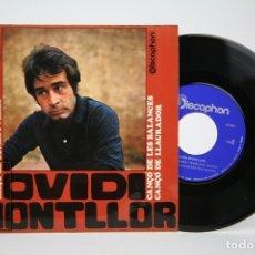 Discos de vinil: DISCO EP DE VINILO - OVIDI MONTLLOR / LA FERA FEROTGE... - DISCOPHON - AÑO 1968. Lote 135804779