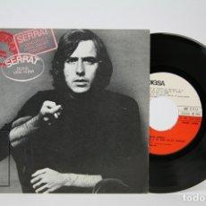 Discos de vinilo: DISCO SINGLE DE VINILO - JOAN MANUEL SERRAT / QUASI UNA DONA.... - EDIGSA - AÑO 1970. Lote 135805122