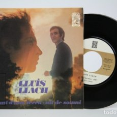 Discos de vinilo: DISCO SINGLE DE VINILO - LLUIS LLACH / DAMUNT D' UNA TERRA - CONCENTRIC - AÑO 1968. Lote 135805550