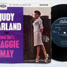 Discos de vinilo: JUDY GARLAND SINGS LIONEL BART'S MAGGIE MAY. EP CAPITOL EAP1-20630. UK 1964. THE LAND OF PROMISES. . Lote 135807618