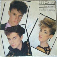 Discos de vinil: MECANO, BARCO A VENUS. Lote 135808602