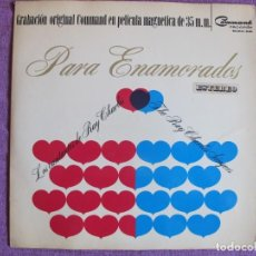 Dischi in vinile: LP - THE RAY CHARLES SINGERS - PARA ENAMORADOS (SPAIN, COMMAND RECORDS 1966, PORTADA DOBLE). Lote 135824682