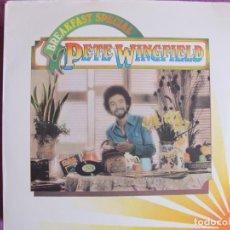 Discos de vinilo: LP - PETE WINGFIELD - BREAKFAST SPECIAL (USA, ISLAND RECORDS 1975). Lote 135826306
