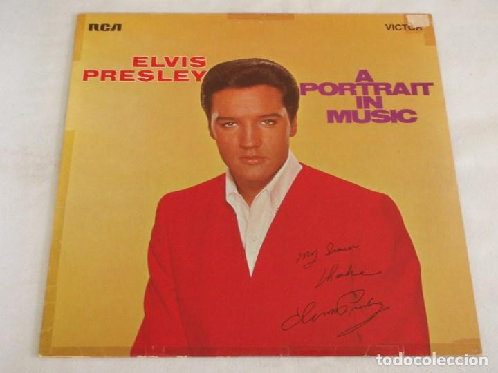 ELVIS PRESLEY ( A PORTRAIT IN MUSIC ) 1972 - GERMANY LP33 RCA (Música - Discos - LP Vinilo - Rock & Roll)