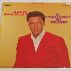 Discos de vinilo: ELVIS PRESLEY ( A PORTRAIT IN MUSIC ) 1972 - GERMANY LP33 RCA. Lote 137703600