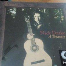 Discos de vinilo: NICK DRAKE A TREASURY LP ¡¡PRECINTADO¡¡. Lote 135839682