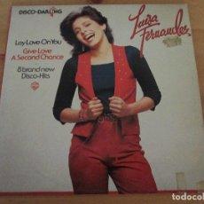 Discos de vinilo: LUISA FERNÁNDEZ DISCO DARLING LAY LOVE ON YOU WB 1978. Lote 135853314