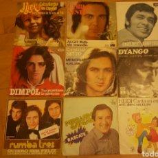 Discos de vinilo: LOTE SINGLES VARIOS ESTILOS. Lote 135856551