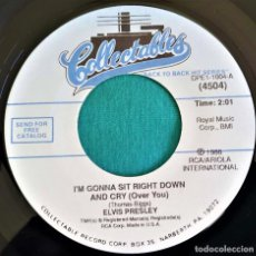 Discos de vinilo: ELVIS PRESLEY - - I'M GONNA SIT RIGHT DOWN AND CRY +1 - - COLLECTABLES (USA) - 1986. Lote 135421238