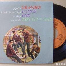 Discos de vinilo: LOS TEEN TOPS - EL ROCK DE LA CARCEL - EP 1963 - CBS. Lote 135863198