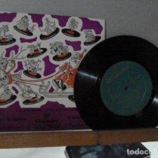 Discos de vinilo: EL LOBO Y LOS CABRITILLOS-EL RUISEÑOR CHINO -CUENTOS. Lote 135865962