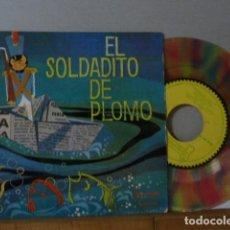 Discos de vinilo: EL SOLDADITO DE PLOMO -CUENTO DISCO DE COLORES . Lote 135866414