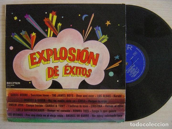 VARIOS - EXPLOSION DE EXITOS - LP 1973 - BELTER - (Música - Discos - LP Vinilo - Grupos Españoles de los 70 y 80)