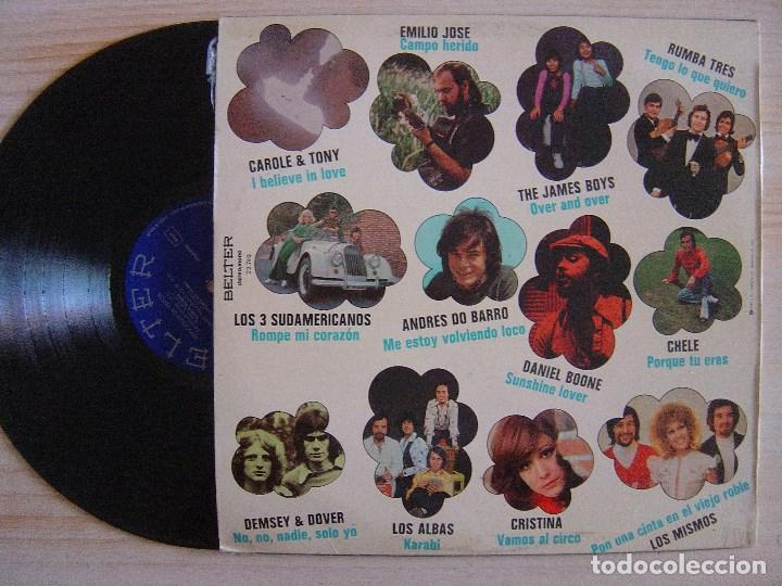 Discos de vinilo: VARIOS - EXPLOSION DE EXITOS - LP 1973 - BELTER - - Foto 2 - 135880226