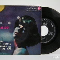 Discos de vinilo: DISCO EP DE VINILO - LOU LALLALLOO / PERFIDIA, PATATI PATATA - RCA - AÑO 1963. Lote 135884746