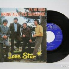 Discos de vinilo: DISCO SINGLE DE VINILO - LONE STAR / ES MI VIDA.... - LA VOZ DE SU AMO - AÑO 1969. Lote 135884815