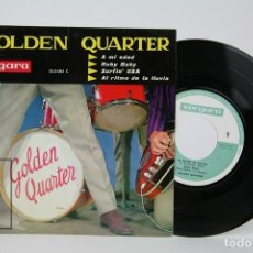 Discos de vinilo: DISCO EP DE VINILO - GOLDEN QUARTER / AMI EDAD, RUBY BABY... - VERGARA - AÑO 1963. Lote 135885738