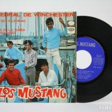 Discos de vinilo: DISCO EP DE VINILO - LOS MUSTANG / CATEDRAL DE WINCHESTER - LA VOZ DE SU AMO - AÑO 1967. Lote 135885985
