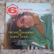 Discos de vinilo: LP. EL ORGANO HAMMOND DE DORSEY TODD. AÑO 1970. Lote 135887782