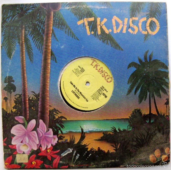 Discos de vinilo: Latimore - Take Me To The Mountain Top - Maxi T.K. Disco 1980 USA BPY - Foto 2 - 135888698