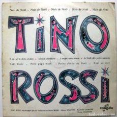 Discos de vinilo: TINO ROSSI - NUIT DE NOËL - LP 25 CM 33 RPM COLUMBIA 1957 FRANCIA BPY. Lote 135895598