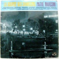 Discos de vinilo: VARIOS - LA BOURSE DES CHANSONS N.2 - LP 25 CM 33 RPM PATHÉ MARCONI 1960 FRANCIA BPY. Lote 135896414